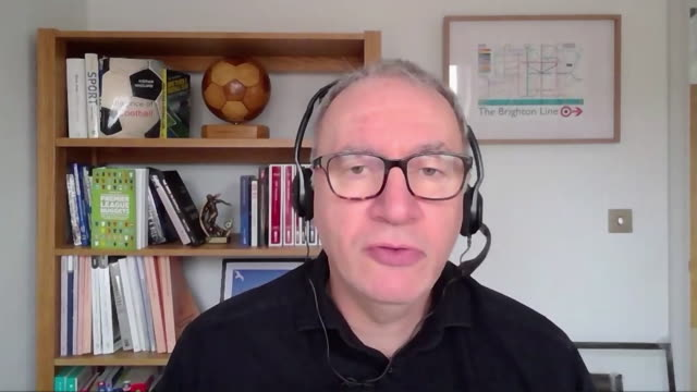 football finance expert kieran maguire explaining how 'project big picture' would be detrimental to premier league clubs outside of the traditional... - expertise stock videos & royalty-free footage
