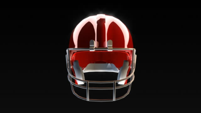 football helmet breaks the camera - helmet stock videos & royalty-free footage