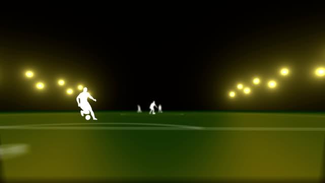 vídeos de stock, filmes e b-roll de jogo de futebol - termo esportivo