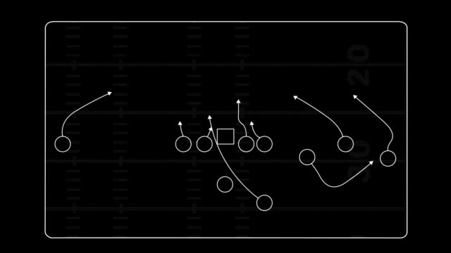 football play montage. - diagram stock videos & royalty-free footage