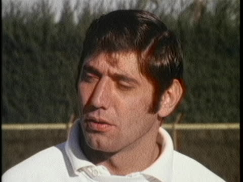 of football player joe namath speaks about the upcoming super bowl against the indianapolis colts. namath says well i said their are some good... - sport stock videos & royalty-free footage