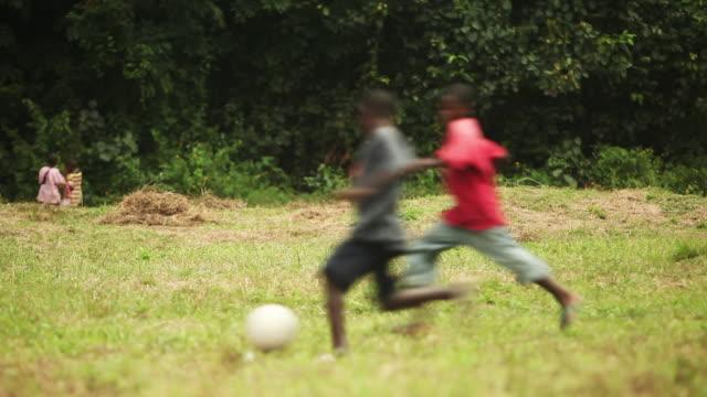 Football Shot in Liberia