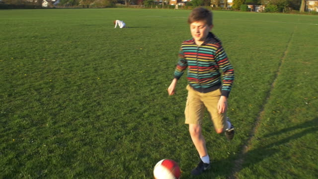 Football Step over Slow Motion