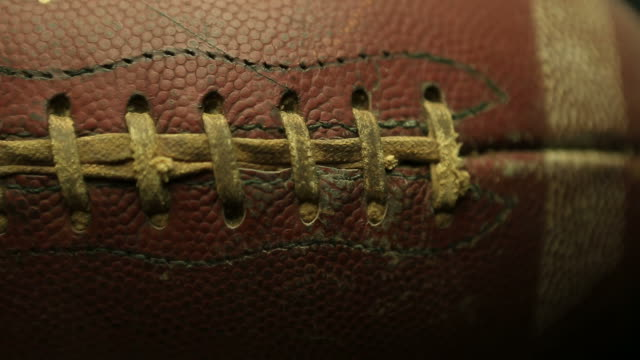 football - american football ball stock videos & royalty-free footage