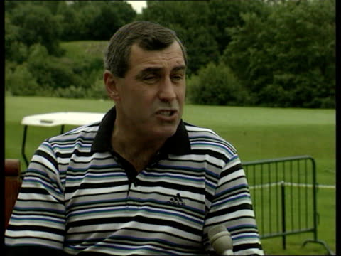 football world cup 1998; england: ext former england goalkeeper peter shilton along and intvwd - want to win tonight's game to put the record straight - goalkeeper stock videos & royalty-free footage