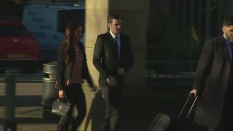 vidéos et rushes de footballer adam johnson pleads guilty to two child sex crimes; - demander