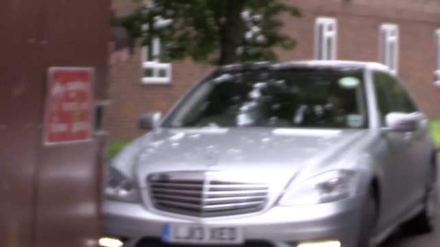 footballer frank lampard and his television presenter wife christine, leave isleworth crown court after she gave evidence in her stalking case... - christine bleakley stock videos & royalty-free footage