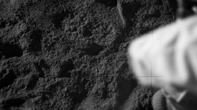 footprint on moon - track imprint stock videos and b-roll footage