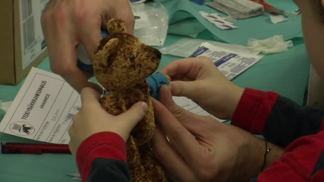 for a few days every year austrian medical students organise a teddy bear clinic clean austrian teddy bear clinic aims to beat on december 17 2013 in... - traditionally austrian stock videos and b-roll footage