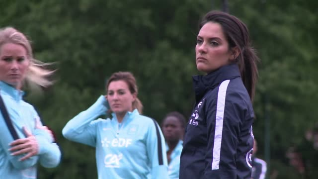 For days after their loss in the Women's football Champions League final PSG international players are back with the French national team preparing...