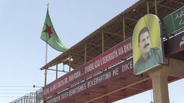 for decades kurds have been severely marginalised in syria with many not even given syrian nationality and forbidden from speaking their language - afp stock videos & royalty-free footage