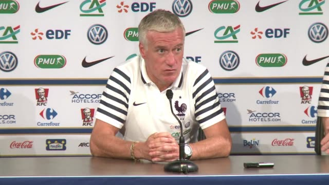 for french coach didier deschamps sunday's friendly against belgium is a chance to assess his squad with a year to go before the european... - hugo lloris stock videos and b-roll footage