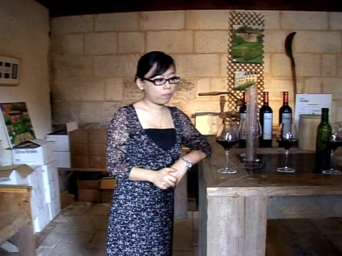 for french winemakers facing a dwindling global thirst for their drink china is a boon consumption there has increased steadily in spite of the... - gironde stock videos and b-roll footage