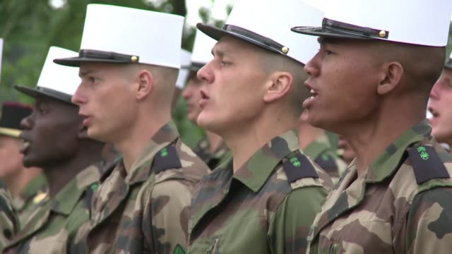 for men aged between 17 to 40 with nothing to lose and a sense of adventure the french foreign legion may seem full of promise - french army stock videos & royalty-free footage