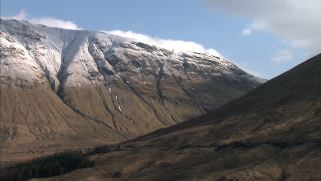 for some areas of the uk severe weather is more than just an occasional risk avalanches pose a serious danger in the scottish highlands james... - mountain pose stock videos and b-roll footage