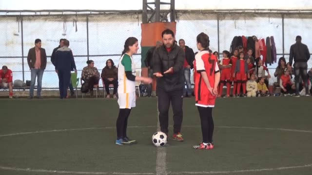 For the first time since the declaration of an autonomous Kurdish region in Syria the final of an all women's football tournament took place in...