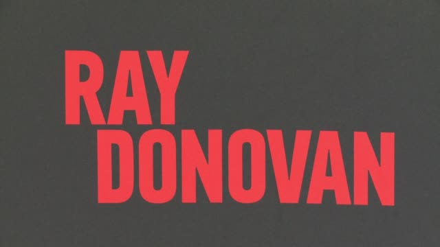 """for your consideration screening and panel for showtime's """"ray donovan"""" - red carpet at paramount theater on the paramount studios lot on april 25,... - showtime video stock e b–roll"""