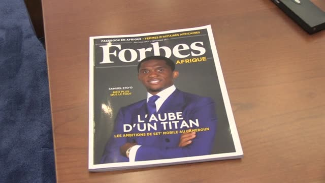 stockvideo's en b-roll-footage met forbes launches forbes afrique a new magazine in french destined for francophone african nations in the presence of former french prime ministers... - magazine