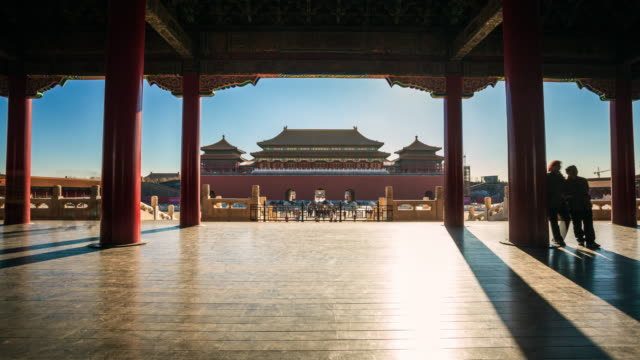 forbidden city, bejing, china. - forbidden city stock videos & royalty-free footage