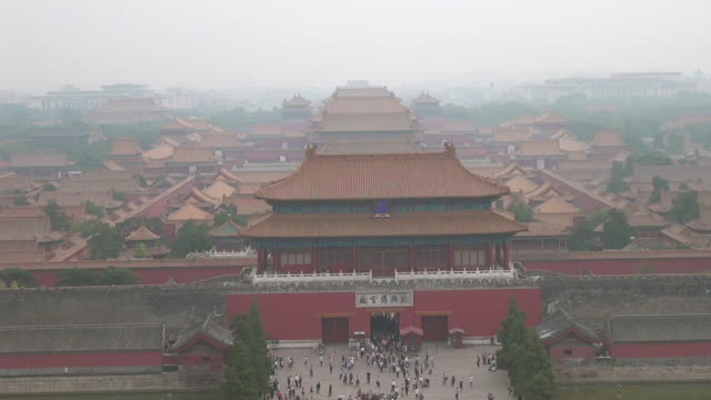 forbidden city in beijing, china - forbidden city stock videos & royalty-free footage