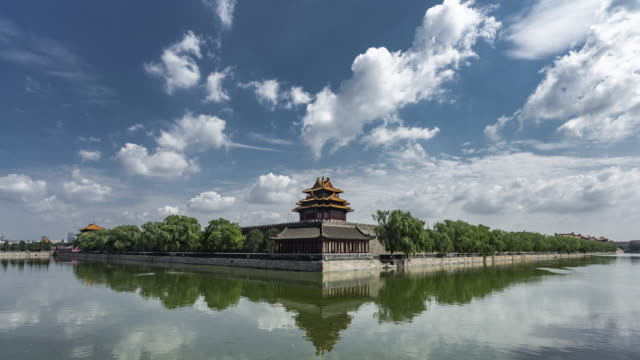 forbidden city time lapse - forbidden city stock videos & royalty-free footage