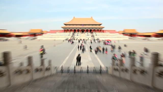 forbidden city timelapse - forbidden city stock videos & royalty-free footage