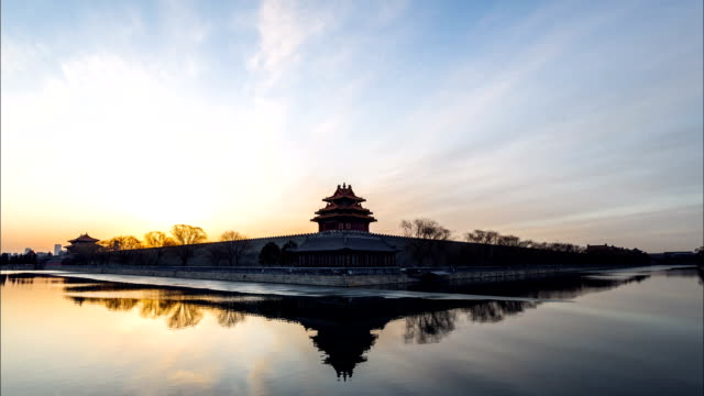 Forbidden city timelapse,Beijing,China