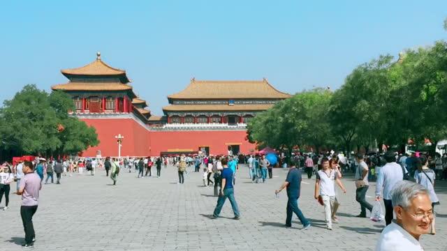 forbidden city - tiananmen square stock videos & royalty-free footage