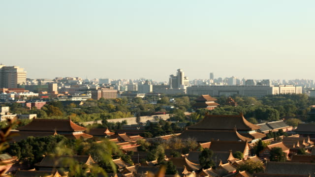 forbidden city view - forbidden city stock videos & royalty-free footage