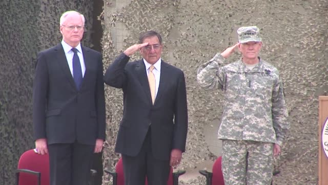 US forces formally marked the end of their mission in Iraq with a lowkey ceremony near Baghdad on Thursday after nearly nine years of divisive war...
