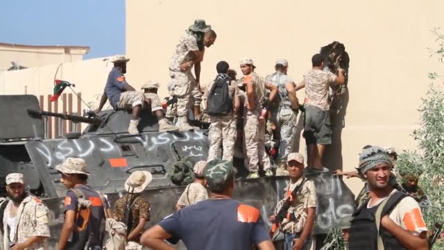 forces loyal to libya's unity government launched a new attack saturday on diehards of the islamic state jihadist group pinned down in the coastal... - jihad stock videos & royalty-free footage