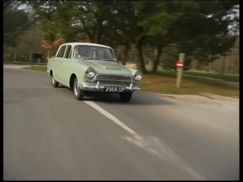 ford anglia 1962 - ford motor company stock videos & royalty-free footage