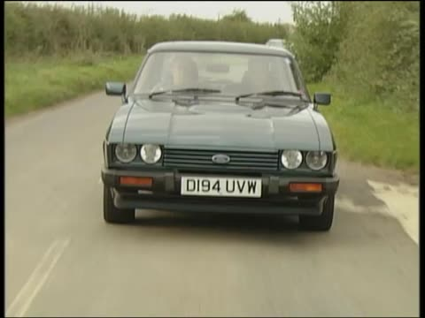 ford capri - on the move stock videos & royalty-free footage
