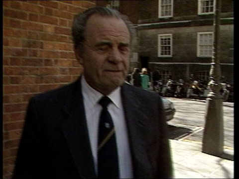 dundee reaction ext england london ms ron todd walks along towards turns corner and towards intvw sof if everybody in britain transport house ms... - dundee scotland stock videos and b-roll footage