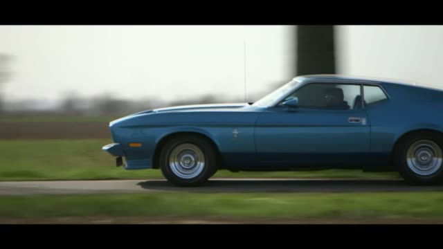 ford mustang moving - matte image technique stock videos & royalty-free footage