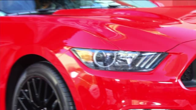 ford mustang on december 05 2013 in hollywood california - ford mustang stock videos and b-roll footage