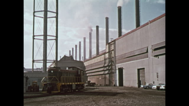 1959 ford river rouge complex montage - trade union stock videos & royalty-free footage