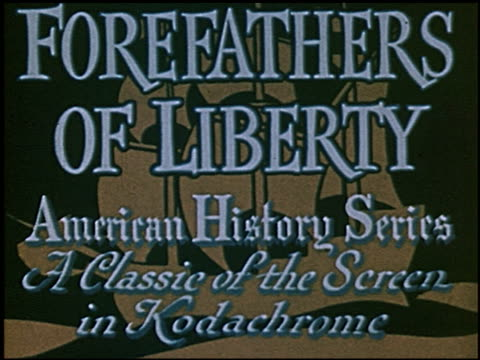 forefathers of history - 1 of 9 - xvii° secolo video stock e b–roll