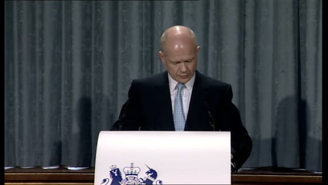 Hague gives first of four policy speeches And fifth we are determined as a Government to give due weight to Britain's membership of the EU and...