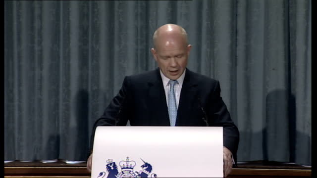 hague gives first of four policy speeches; so if the increasingly multipolar world already means that we have more governments to influence and that... - human interest stock videos & royalty-free footage