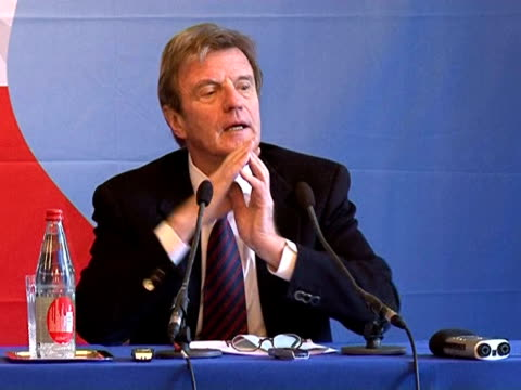 foreign minister bernard kouchner has reiterated france's refusal to exchange the freedom of an iranian agent jailed in france for that of a young... - prisoner education stock videos & royalty-free footage