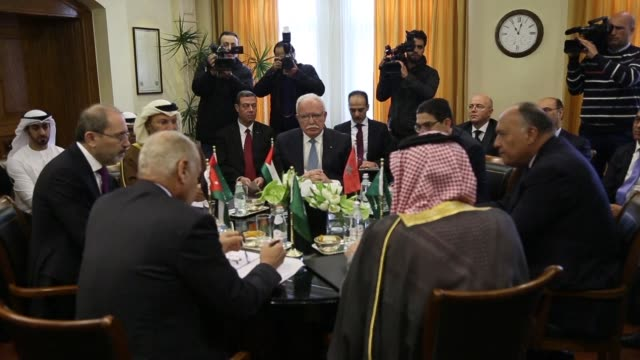 Foreign ministers of six Arab countries meet in the Jordanian capital for talks on Jerusalem after US President Donald Trump recognised the city as...
