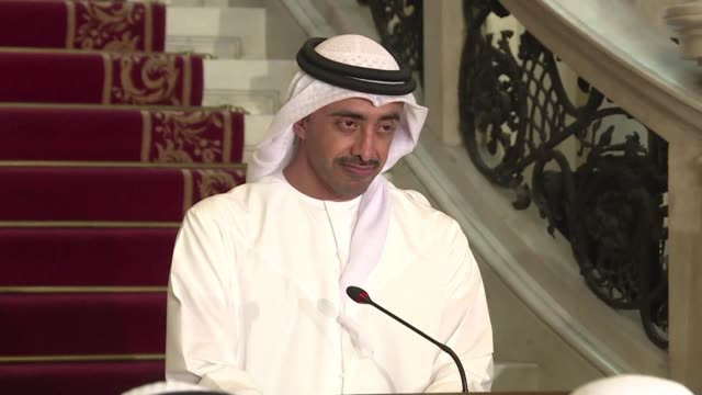 foreign ministers of the saudi led bloc that imposed an embargo on qatar says they regret the emirate's negative response to a list of demands to end... - qatar stock videos & royalty-free footage