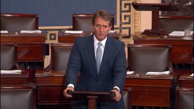 Foreign Relations Committee member Jeff Flake asserts that Congress should not continue to let military action without debate