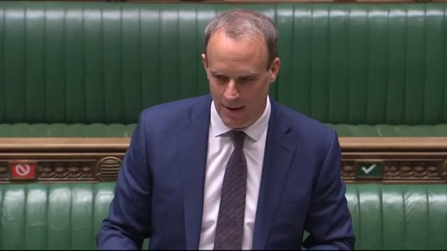 foreign secretary dominic raab and labour leader sir keir starmer begin wednesday's prime minister's questions by sending their best wishes to boris... - healthy lifestyle stock videos & royalty-free footage