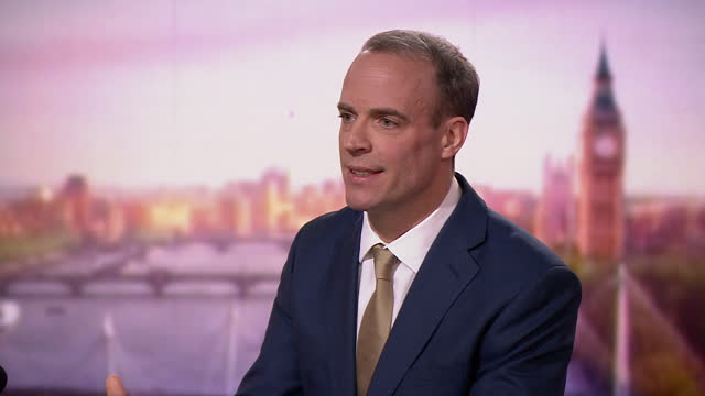 "foreign secretary dominic raab saying if the uk leaves the eu with no free trade deal then ""we will exercise full control over our fisheries"" - british military stock videos & royalty-free footage"