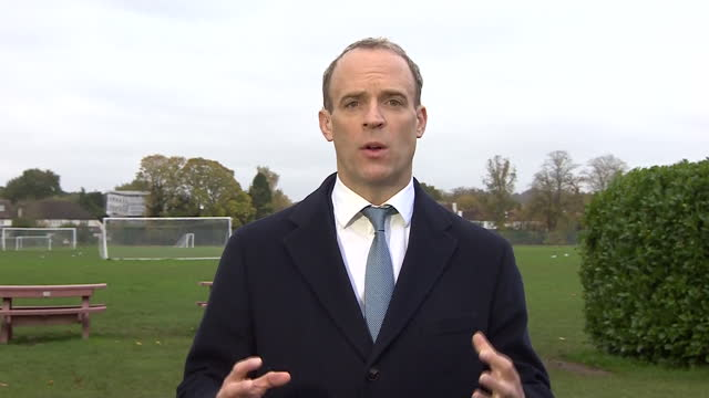 """foreign secretary dominic raab saying """"we need full compliance and cooperation"""" for the government's tiered coronavirus approach to work - state of emergency stock videos & royalty-free footage"""