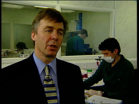 New DNA test ITN Werrett interview SOT Talks of DNA evidence gathered in cases now giving results using new technique