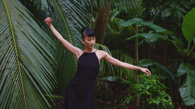 forest dancing - モダンダンス点の映像素材/bロール