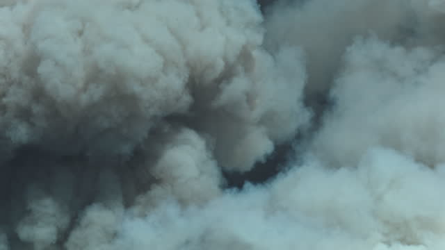 forest fire smoke up close - western usa stock videos & royalty-free footage